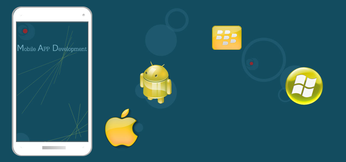 Mobile App Development for android windows ios blackberry tizen